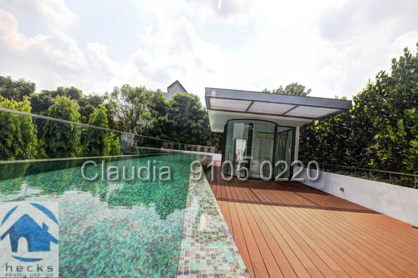 New Cluster House Near Holland Village with private Pool for rent