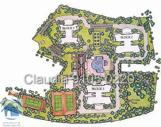 four seansons park layout