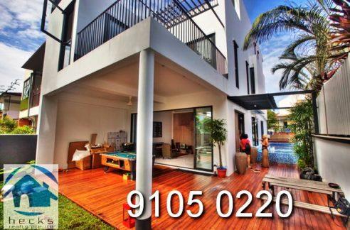 for Rent Renovated Corner Terrace House in Paya Lebar, modern