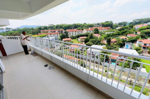 Clementi park Balcony unobstructed view
