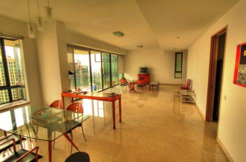 Rivergate for rent 3 bedrooms, very high floor