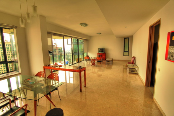 Rivergate for rent 3 bedrooms, very high floor