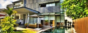 Namly House with Pool Modern