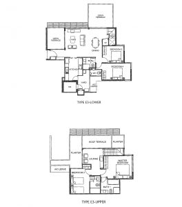 Floorplan Varsity Park Penthouse