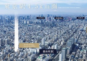 Sumida 1LDK for Sale Tokyo Apartment Sale for solid Investment. Guaranteed Rental return. Harmony Residence