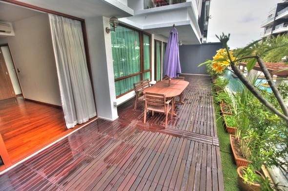 PARK NATURA Ground Floor for Rent in Park Natura Condo 4 bed big veranda
