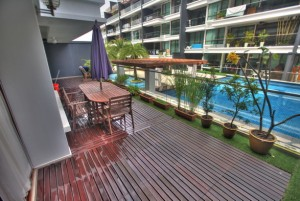 Ground Floor for Rent in Park Natura Condo 4 bed big veranda