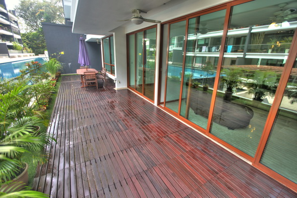 Ground Floor for Rent in Park Natura Condo 4 bed
