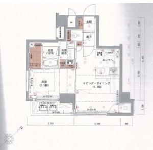 Floorplan for Harmony Residence Nihonbashi East