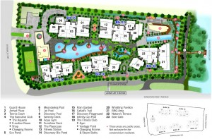 H2O Residences Condo layout and Facilities