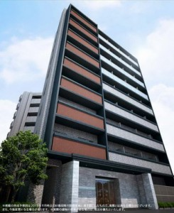 Tokyo East Core Apartment Block - Complete Building Photo