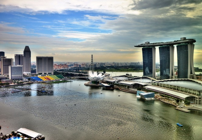 The Sail at Marina Bay Bay View for Rent