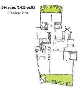 Floorplan The Coast Sentosa