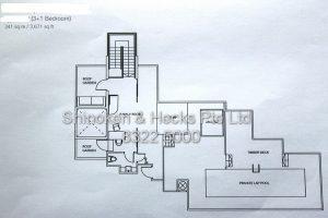 Floorplan Nassim on Beaufort Penthouse