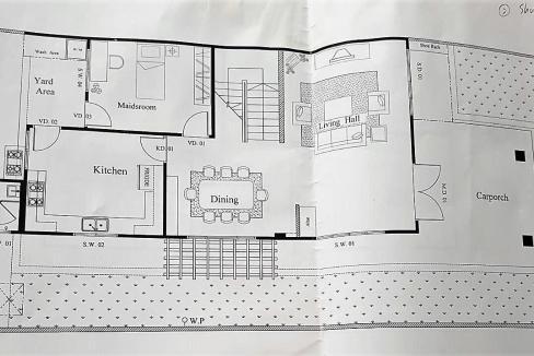 Floorplan Semi D House for Rent