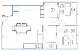 Floorplan Office Clementi Park