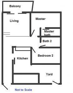 Floorplan Clementi Park 2 Bedroom