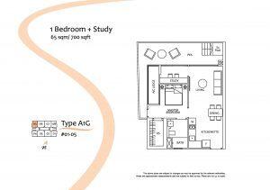 Floorplan Stevens Suites Studio